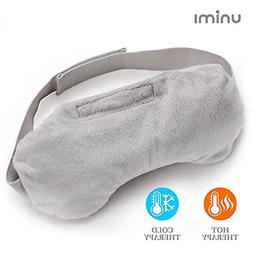 Unimi Lavender Eye Pillow, Aromatherapy Eye Mask for Sleepin