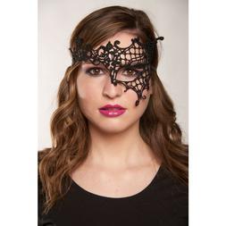 Kayso LL014BK K2007 Black One Eye Lace Mask