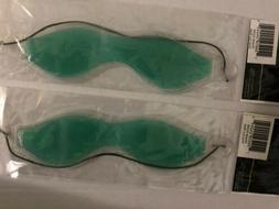Lot Of 2 Pc Cooling Gel Eye Mask Stress Pain Migraine Muscle