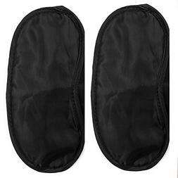 Luxurious Set of 2 High Quality Satin Sleeping Sleep Masks /