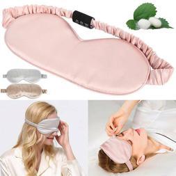 Luxury Both Sides 100% Mulberry Silk Sleep Travel Eye Mask S