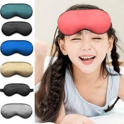 Luxury Organic Mulberry Silk Sleep Eye Mask Soft Adjustable