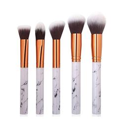 KaiCran Marble Texture Makeup Brush Foundation Concealer Pow
