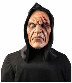 Mask Hooded One Eye Vinyl Mens Ghoul Scary Adult Halloween C