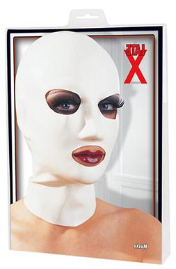 MASK LATEX GERMANY .4MM THICK EYE & MOUTH OPENING SM NOSE HO