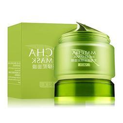 MATCHA Green Tea Face Mask, Organic Jiangsu Green Tea Matcha