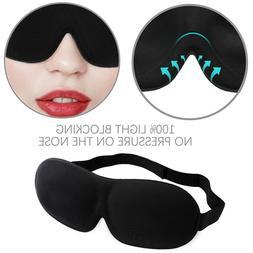 Travel Sleep Eye Mask 3D Memory Foam Padded Shade Cover Slee
