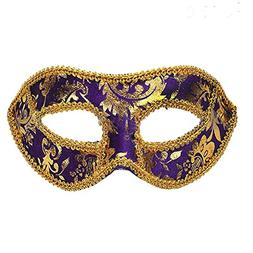 Men's Classic Foiled Costume Eye Mask Masquerade Party Cospl
