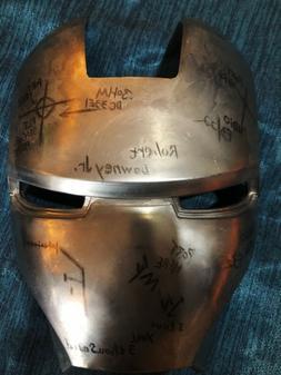 Men's Costume Masks metal iron man MKII Helmet Eye Mask