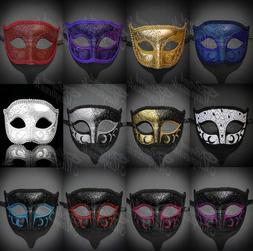 Men's Mysterious Charming Prince Venetian Party Prom Masquer