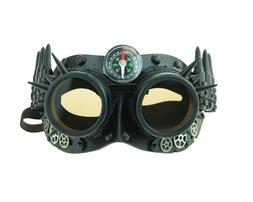 Men's Steampunk 308 Tactical Style Eye Mask With Compass