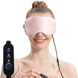 Aroma Season Mulberry Silk USB Heated Eye Mask Relieve Dry E