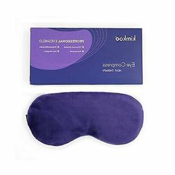 kimkoo Moist Heat Eye Compress&Microwave Hot Eye Mask for Dr