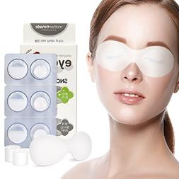 MOTHERMADE Snow Shining Eye Mask , Brightens and Reduces Dar