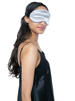 MYK Pure Mulberry Silk Beauty Sleep Eye Mask, Blindfold, for