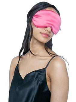 MYK Pure Mulberry Silk Beauty Sleep Eye Mask, Blindfold, for