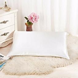 ALASKA BEAR - Natural Silk Pillowcase, Hypoallergenic, 19 mo