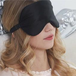 Natural Silk Sleep Eye Mask Blindfold Cover LUXURY Super Smo