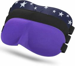 3D Natural Silk Sleep Mask Blindfold Super Smooth Eye Mask O