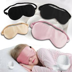 Natural Silk Sleeping Eye Mask Shade Super Soft Smooth Blind