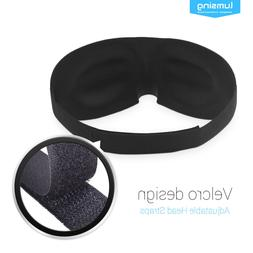 New 3D Sleep Eye Mask Soft Padded Eyepatch Travel Relax Medi