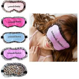 New Girl Eye Mask Tools Nylon Lace Embroidery Sleeping Care