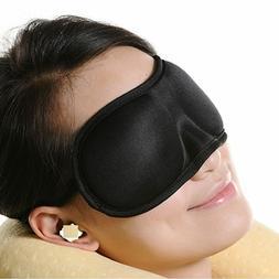 NEW Organic Natural Custom Printed 3D Natural Sleep Mask Sle