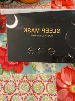 NEW MZOO Sleep Eye Mask Unisex, 3D Contoured Cup Sleeping Ma