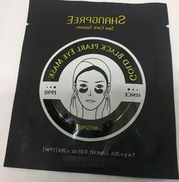 NIP- Shangpree Gold Black Pearl Eye Mask Puffiness Dark Circ