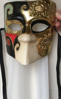 papier mache venetian eye mask theatre cosplay