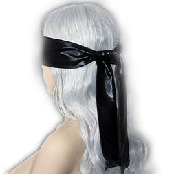 Party Game Sexy Soft Silk Satin Eye Mask Shade Blindfold Rib