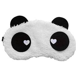 ACTLATI Plush Animal Eye Mask Cute Panda Sleep Blindfold Cov