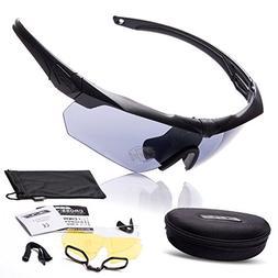 AV SUPPLY Outdoor Sport Polarized Sunglasses Crossbow Milita