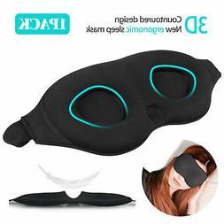 Travel Sleep Eye Mask 3D Memory Foam Padded Shade Relax Slee