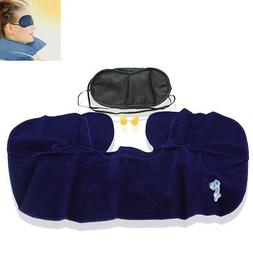 Travel Relaxation Set Air Pillow Eye mask Ear plugs Three He