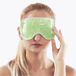 Reusable Cooling Gel Eye Mask for Dark Circles, Puffy Eyes,