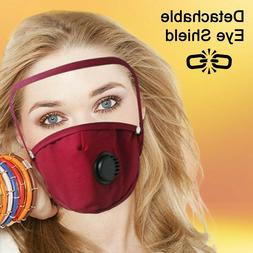 reusable washable cloth face mask w air