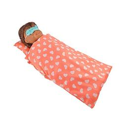 Baby 3PCS Reversible Doll sleeping bag &Eye mask& pillow Clo