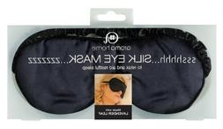 Aroma Home Satin Eye Mask Black
