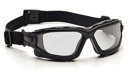 Pyramex SB7010SDT I-Force Safety Glasses Blk Frme w/Clear An