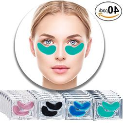 Set Kit of 40 Pairs Collagen Eyes Masks with Green Aloe Vera