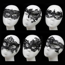 CythereaSexy Women's Black Lace Eye Face Mask Masquerade Par