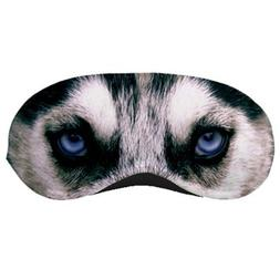 Siberian Husky Dog Sleeping Eye Night Mask