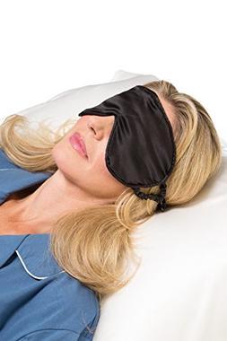 Fishers Finery 25mm 100% Silk Therapeutic Sleep Mask; Perfec