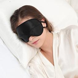 ALASKA BEAR® Natural Silk Sleep mask & Blindfold, Super-Smo