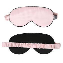 JINSANTA 100% Natural Silk Sleep Mask & Blindfold Soft Eye M