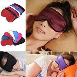 silk sleep rest eye mask