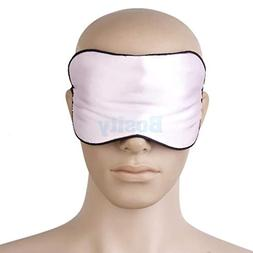 100% Silk Soft Eye Mask Shade Cover Blinder Blindfold Travel