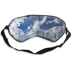 Sky Sleep Mask, Cute Sleeping Mask Set Natural Eye Cover for