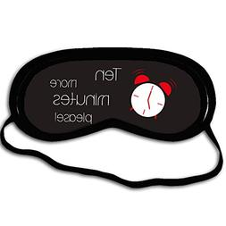 EnnE Sleep Mask & Blindfold, Ten More Minutes Please Super-s